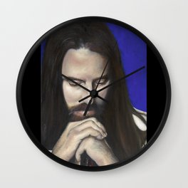 Father Canst Thou Hear Me Wall Clock