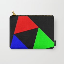 Triangles in a Square Carry-All Pouch