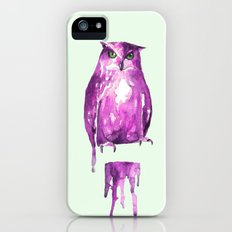 owl iPhone (5, 5s) Slim Case