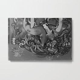 tora Metal Print