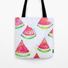 Watermelon Watercolor Print  Tote Bag