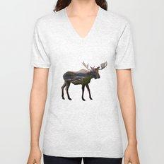 The Alaskan Bull Moose Unisex V-Neck