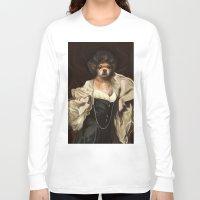 karu kara Long Sleeve T-shirts featuring Ruffs and Collars - Kara by LiseRichardson
