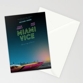 Miami Vice / Inherent Vice mashup poster Stationery Cards