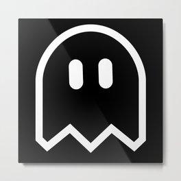 See The Ghost Too Metal Print