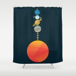 Solar System 2 Shower Curtain