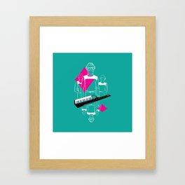 Whip It Framed Art Print