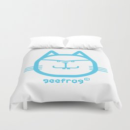 PLACID GEEFROG CAT #1 Duvet Cover