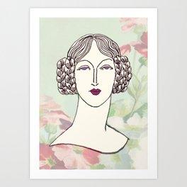 Lady III Art Print