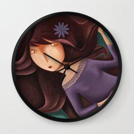 Chicas de baúl 5 Wall Clock