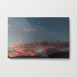 Abel Tasman Sunset Metal Print