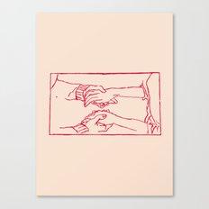 Magic Touch Canvas Print