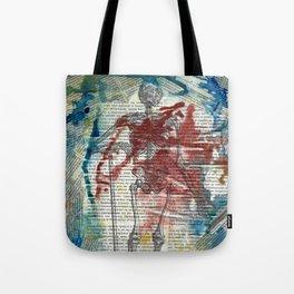 Vesalius Grave digger Tote Bag