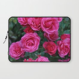 Pink Charm Roses Laptop Sleeve