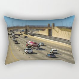 Oklahoma Highway by Monique Ortman Rectangular Pillow