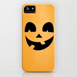 Silly Jack-O-Lantern iPhone Case