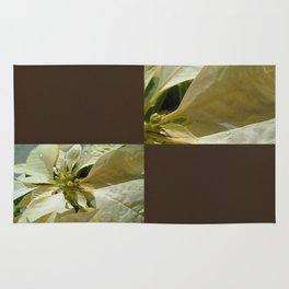 Pale Yellow Poinsettia 1 Blank Q3F0 Rug