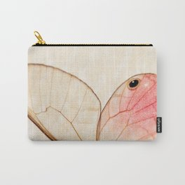 Pink Glasswing 1 Carry-All Pouch