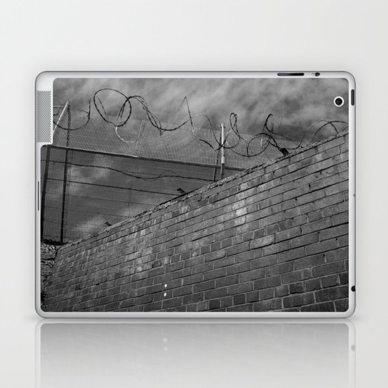 Brick and wire Laptop & iPad Skin