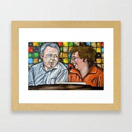 Archie & Edith Bunker  Framed Art Print