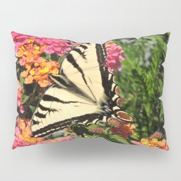 Swallowtail on Lantana Pillow Sham