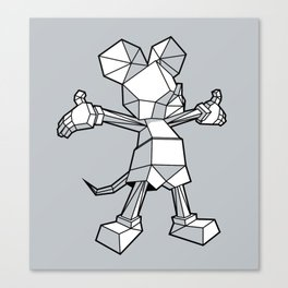Origamey Mouse Canvas Print
