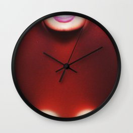 """boob"" from Chocolate Summers by House of Munroe Wall Clock"