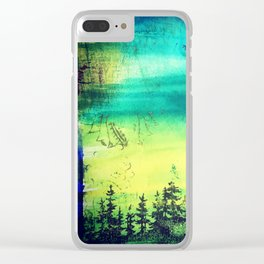 Resting Season Clear iPhone Case