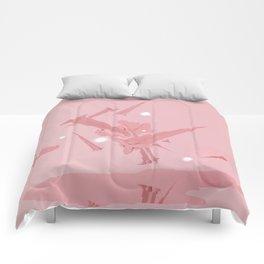 Voyage in Pink Comforters