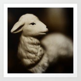 Tom Feiler Lamb Art Print