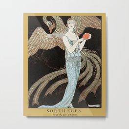 Art Deco 1922 Barbier Metal Print