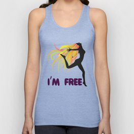 Womens ClothLuxe : Democracy Freedom Tee Shirt Gift Unisex Tank Top