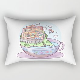 Tea Town Rectangular Pillow