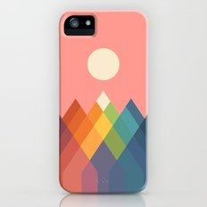 Rainbow Peak iPhone SE Slim Case