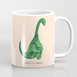 Lonely loch ness monster (loch-li-ness) Coffee Mug
