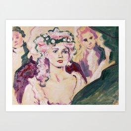 Marie at the Ball Art Print
