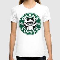 ohana T-shirts featuring Ohana Coffee by Ellador
