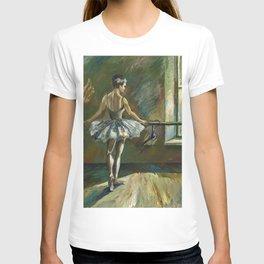 Ballerina Painting Acrylic T-shirt