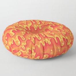 Cheese Melt Floor Pillow