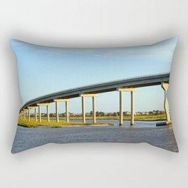 Bridge To The Sea Rectangular Pillow