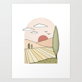 La Provence Art Print