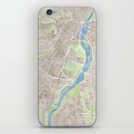Richmond Virginia City Map iPhone Skin