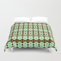 oasis Duvet Covers featuring Oasis #4 by Ornaart