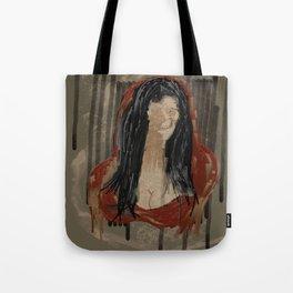 Red Mona Tote Bag