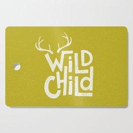 WILD CHILD Cutting Board