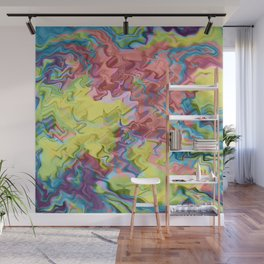 Lost in Thought; Fluid Abstract 56 Wall Mural