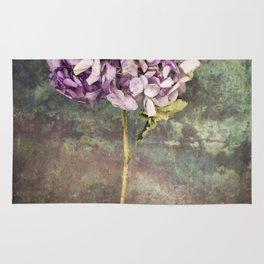 Beautiful Hydrangea Rug