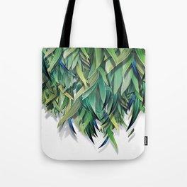 """""""Spring Forest of Surreal Leaf"""" Tote Bag"""