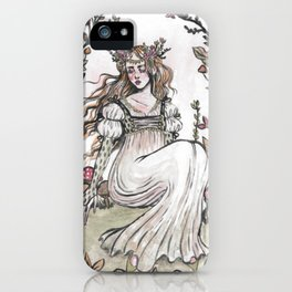 Fairy Ring Maiden iPhone Case