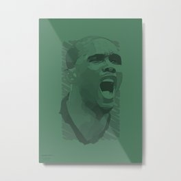 World Cup Edition - Samuel Eto'o / Cameroon Metal Print